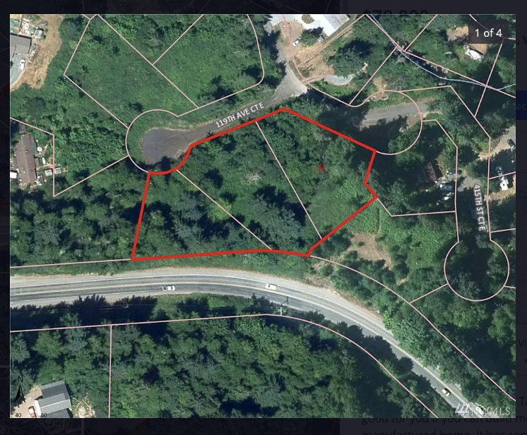1.58 Acres of Residential Land, 3 Combined Parcels,