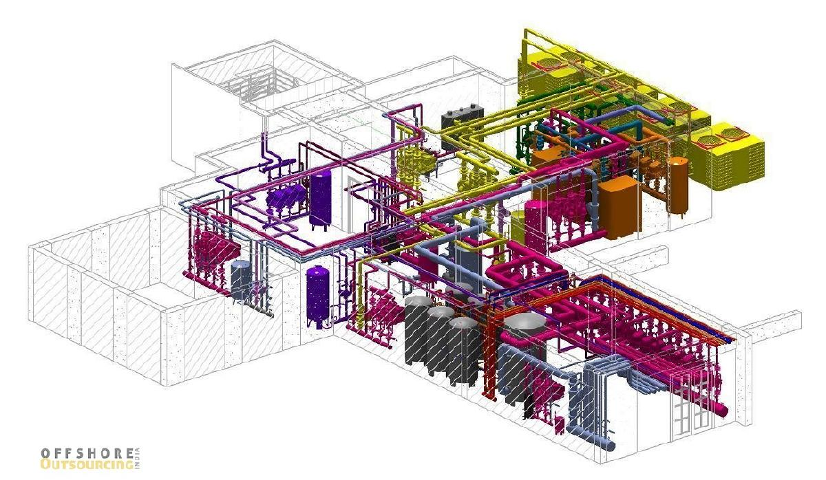 MEP Design outsourcing services | offshore outsourcing India