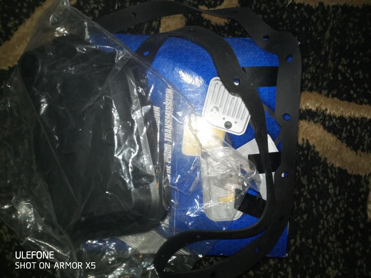 01 FORD FOCUS SE DOHC ZETEC TRANSMISSION FILTER WITH GASKET