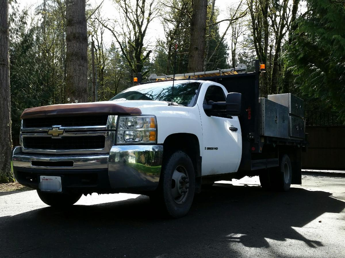 TRUCK FOR SALE, Chevrolet DIESEL Service Utility Flatbed