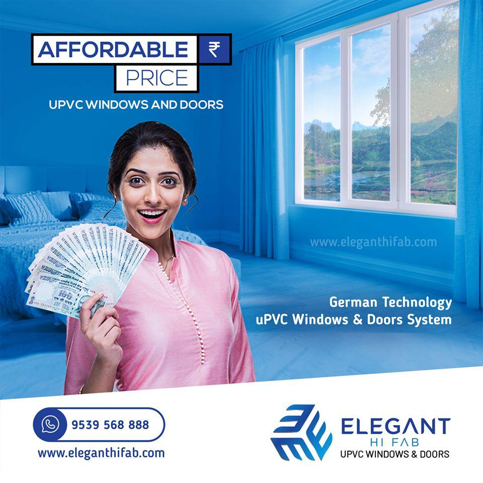 The best uPVC windows and doors suppliers in Cochin Kerala