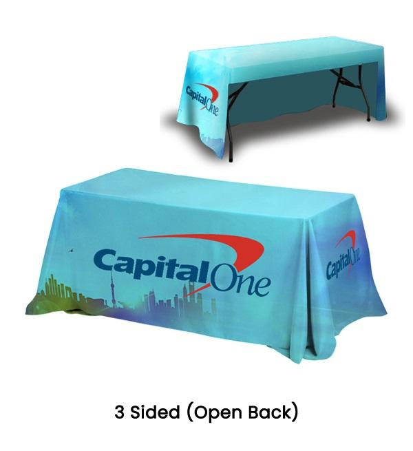 Trade Show Table Covers For Business Promotions