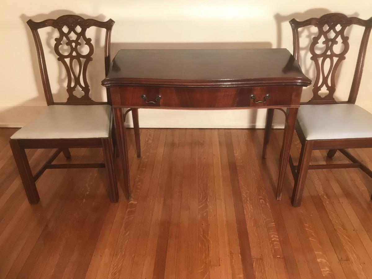 Chippendale Style Table and Chairs