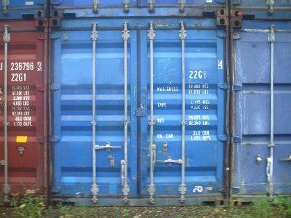 Used Containers- 20' Connex Storage Boxes WWT