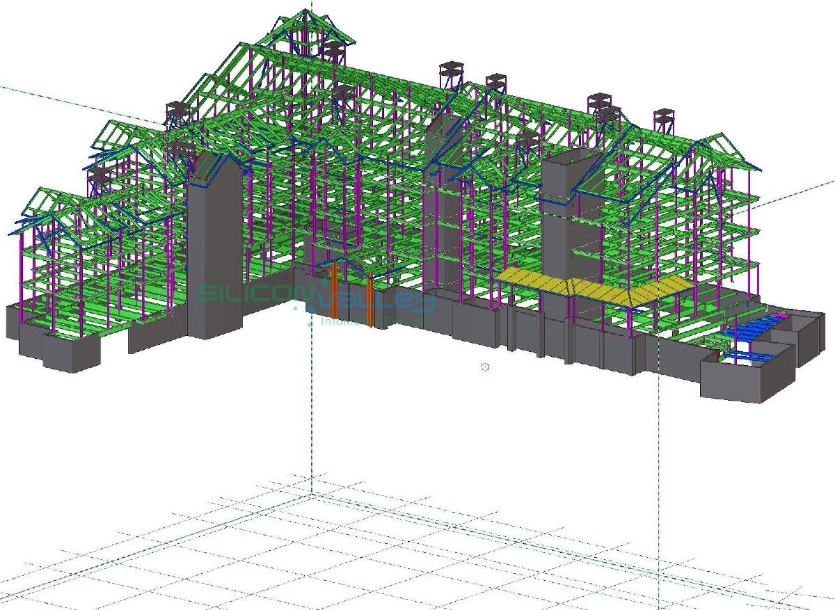 Structural Steel Fabrication Drawing Services