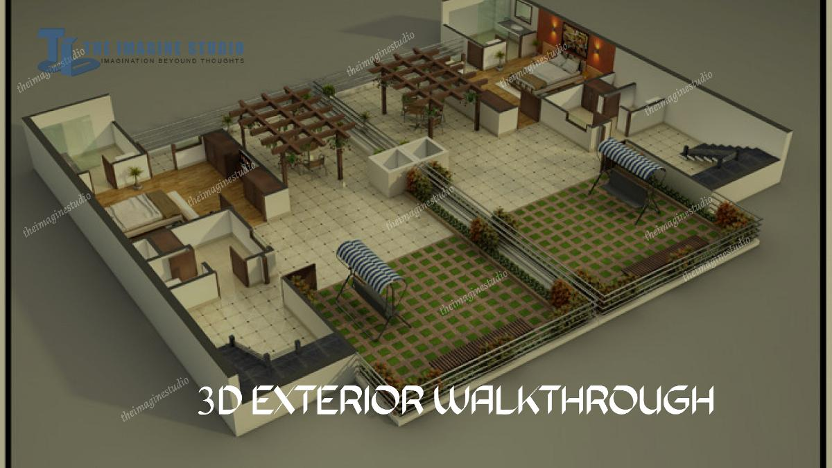 3d walkthrough animation services