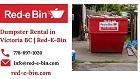 Dumpster Rental Company | Bin Rental Service | Red-E-Bin