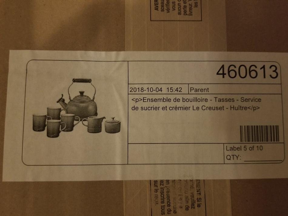 Le Creuset Tea Set(Brand New)