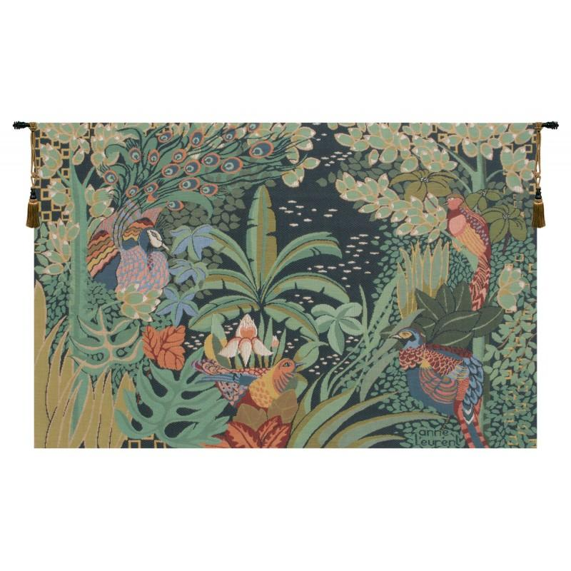 BUY JUNGLE AND FOUR BIRDS FRENCH TAPESTRY