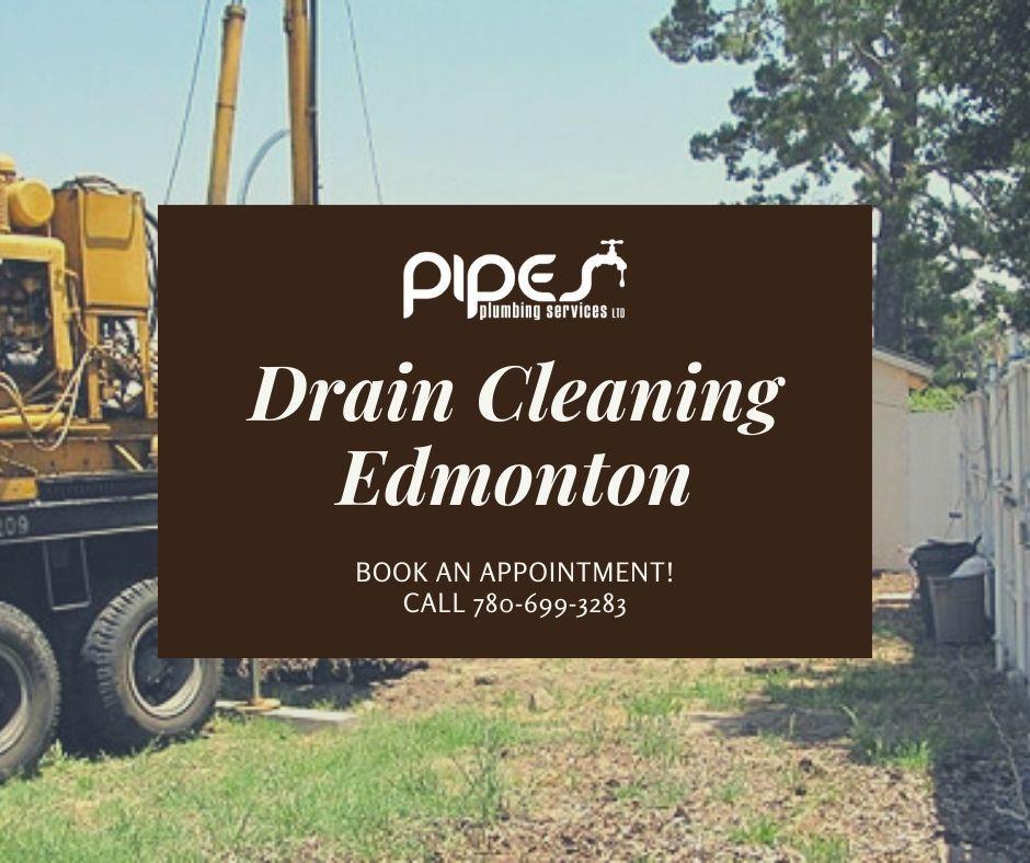 Pipes Plumbing LTD  Drain Cleaning Edmonton