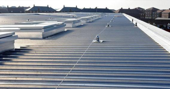 Commercial Flat Roofing Services | The Roofers