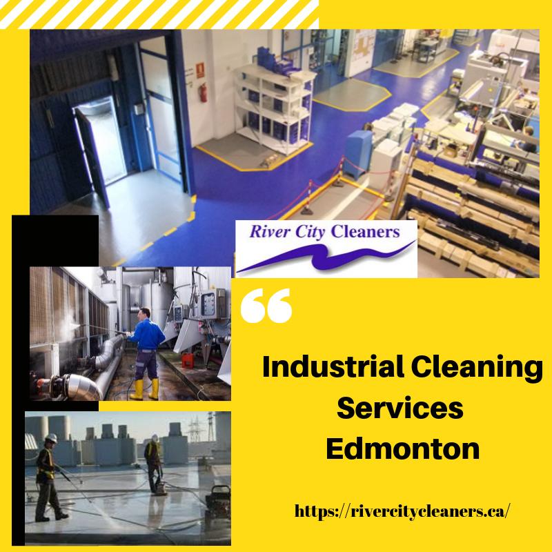 Industrial cleaning Edmonton: