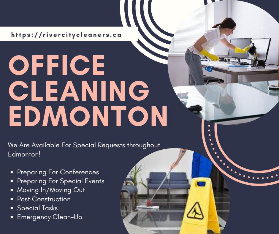 Office cleaning Edmonton: