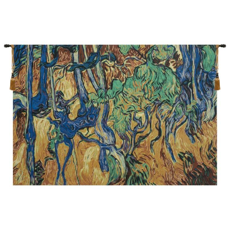 BUY TREE ROOTS AND TRUNKS BELGIAN TAPESTRY