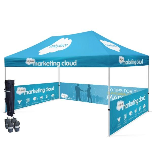 10x15 Custom Printed Canopy Tent With Logo & Designs |