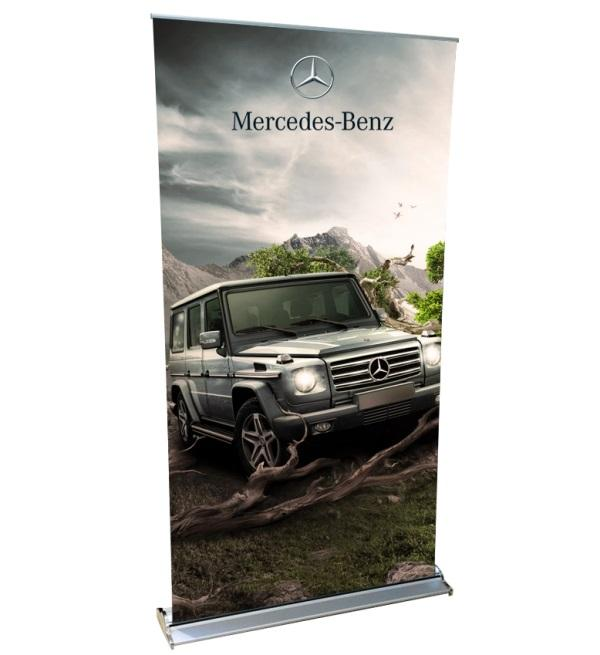 Flat Off On Roll Up Banner Stands From Tent Depot | Vaughan