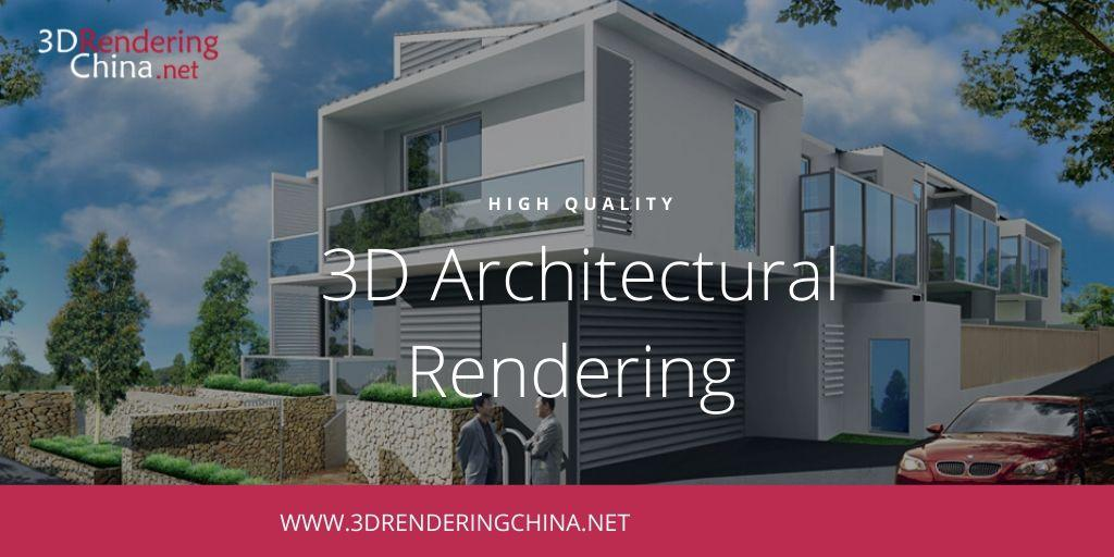 3D Architectural Rendering Outsource, 3d