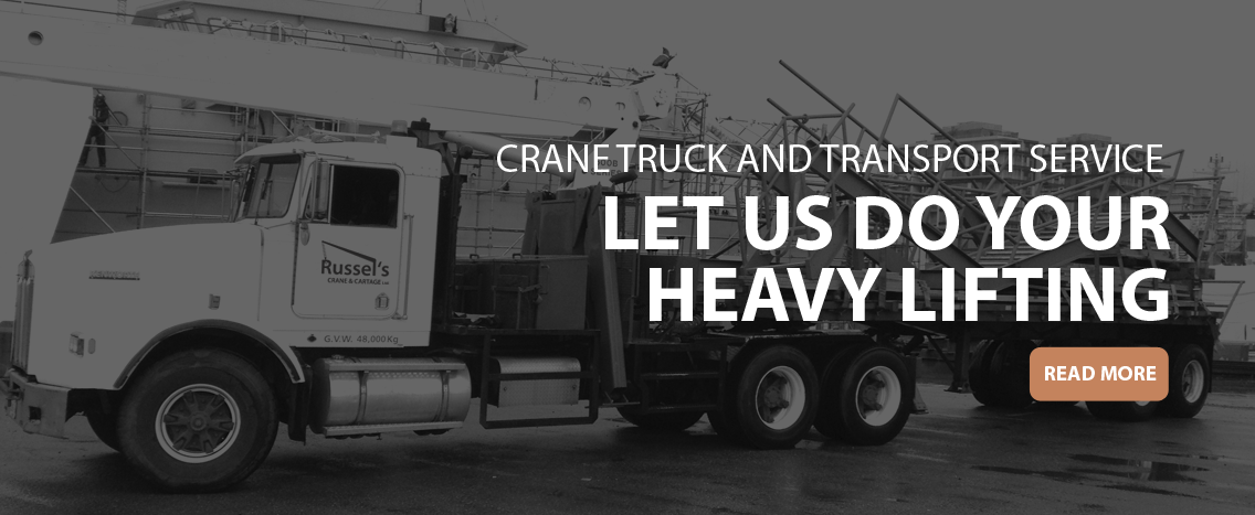 Boom Truck Rental Cost | Crane Rental Services Victoria BC