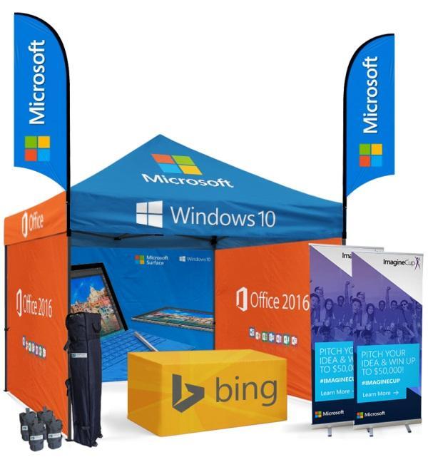 Custom Pop Up Canopy Tent For Indoor & Outdoor Events