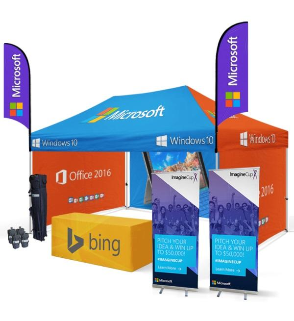 10x15 Custom Printed Canopy Tent For Business Promotions