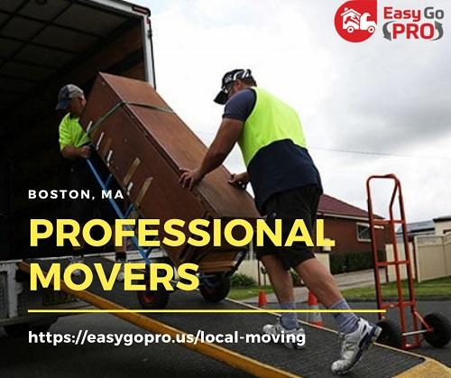 Get Boston's Best Professional Movers at EasyGo PRO | Moving