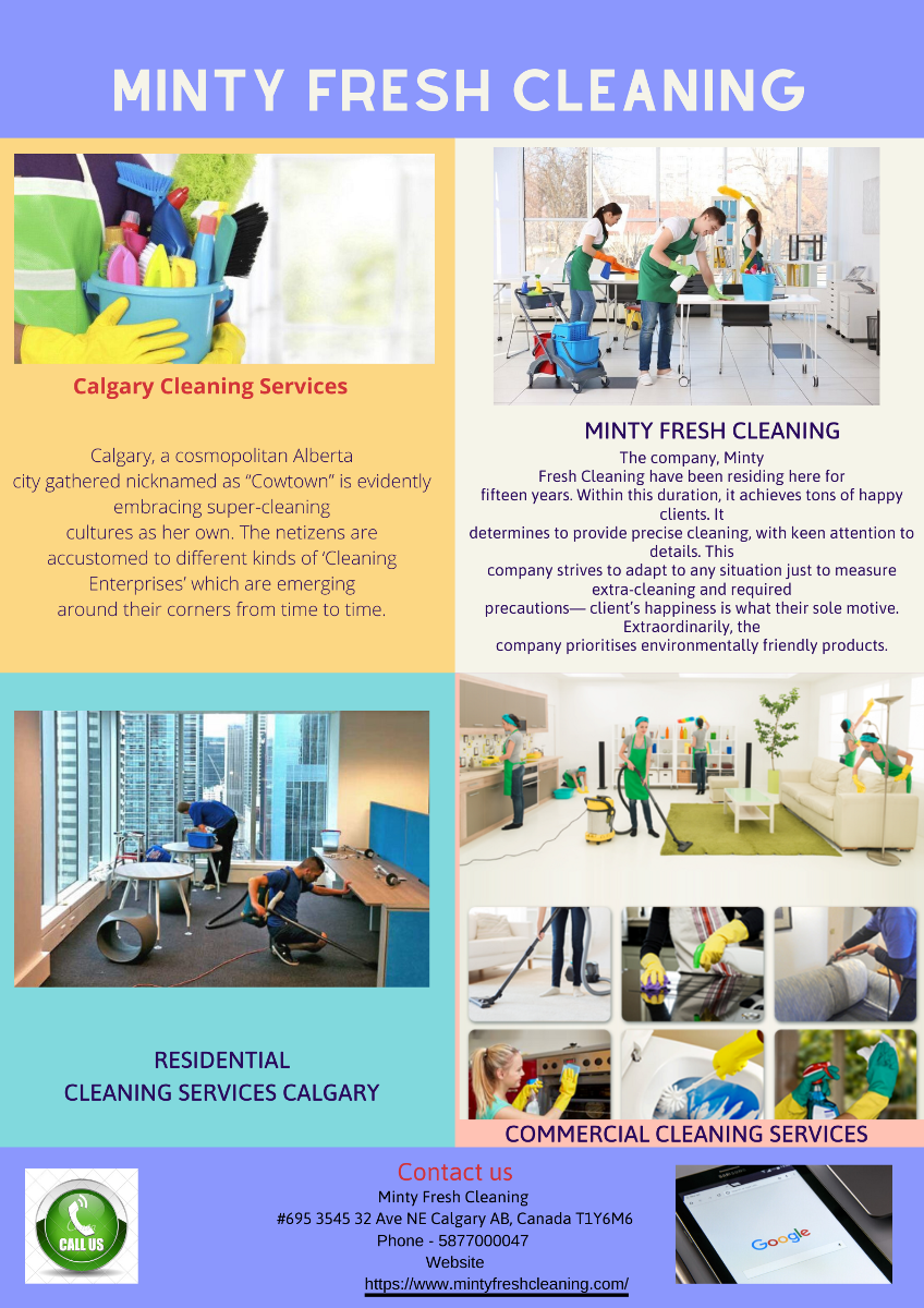 Maid Service Calgary | Minty Fresh Cleaning Services Calgary
