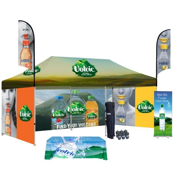 Shop Now ! 10x20 Custom Printed Canopy Tent | Canada