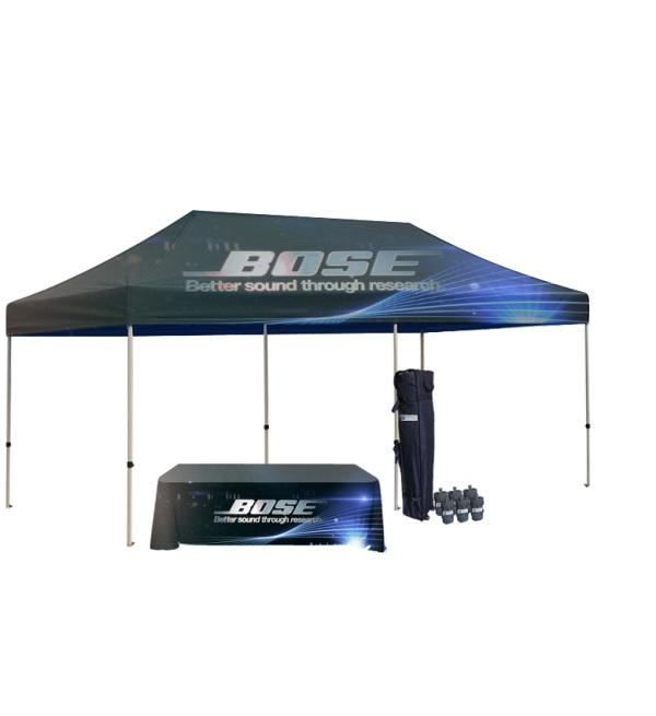 The Best Custom Graphics 10x20 Canopy Tent