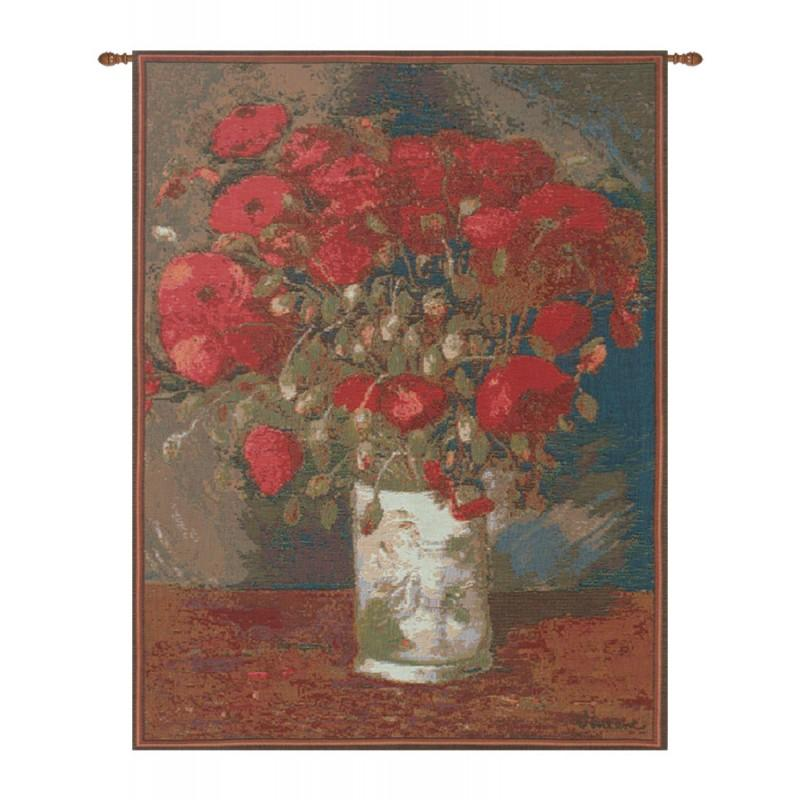 BUY POPPIES VAN GOGH FRENCH TAPESTRY