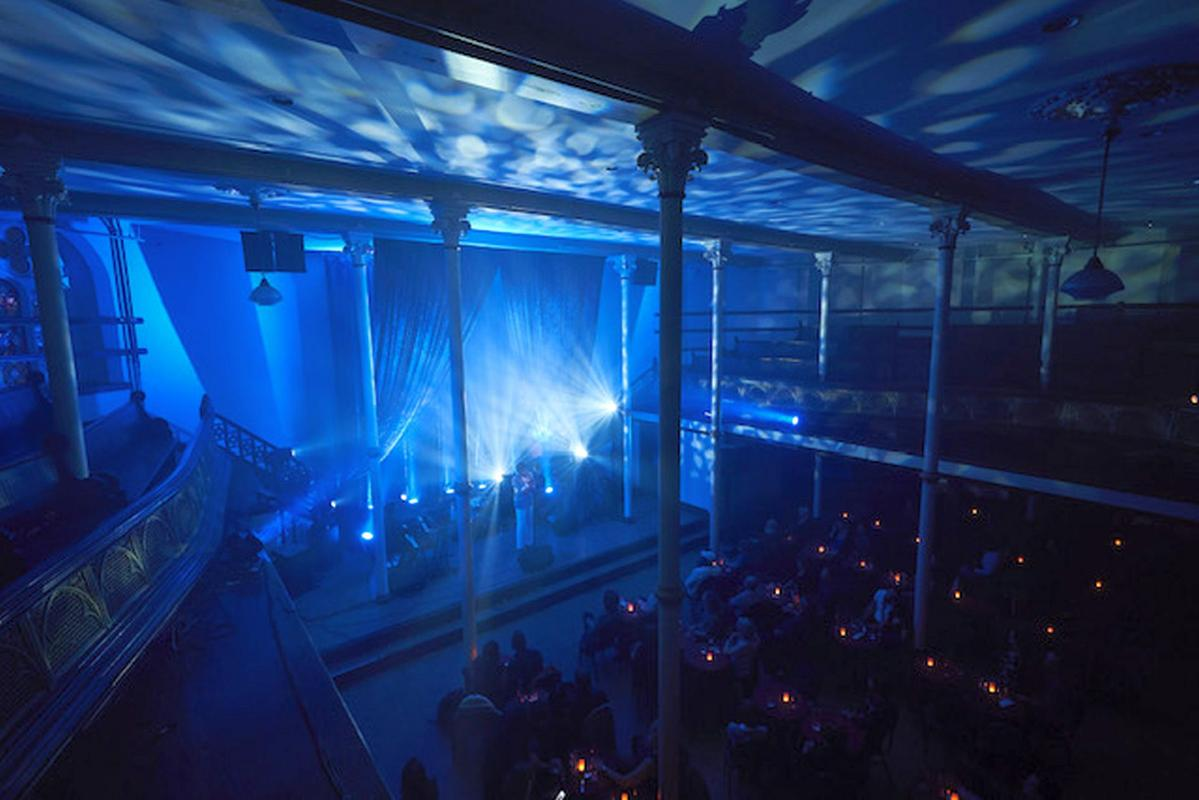 LE BALCON venue in the St-James Church Montreal for sale