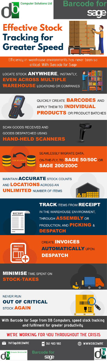 Agile, Accurate Stock Control & Tracking When Companies Need