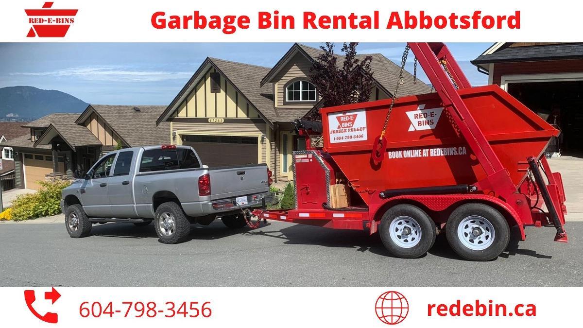 Garbage Bin Rental Abbotsford | Bin Rental Abbotsford | Red