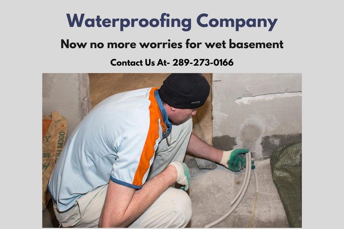 Wet Basement Repairing And Waterproofing Company In Niagara
