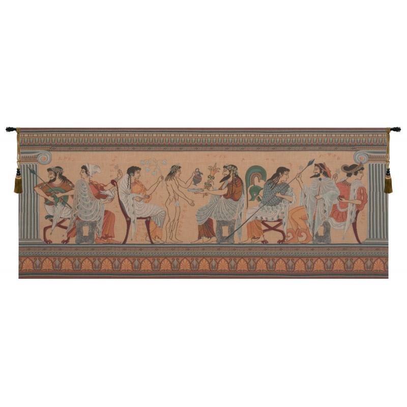 OLYMPIANS FRENCH TAPESTRY WALL HANGING