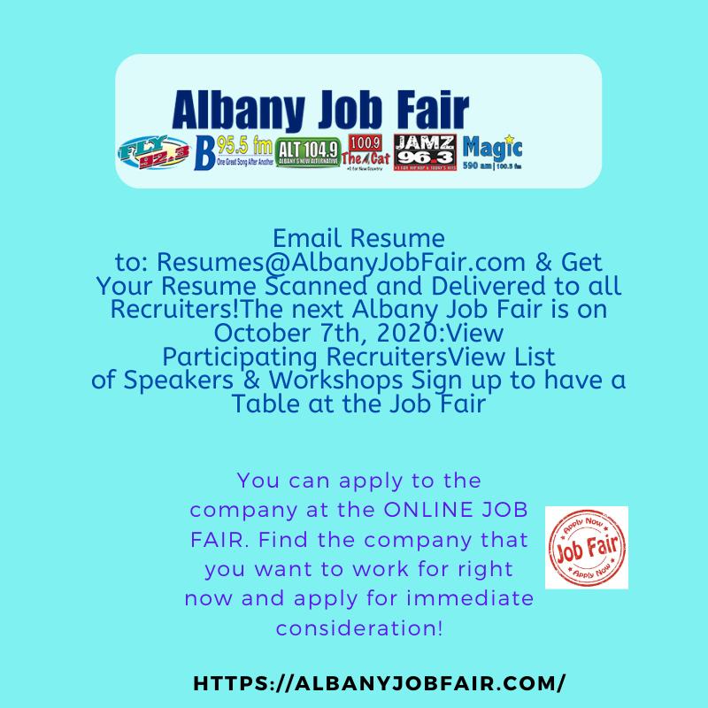 Albany Job Fair Oct