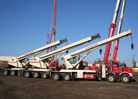 Rent Rough Terrain Crane to get your job done on time in
