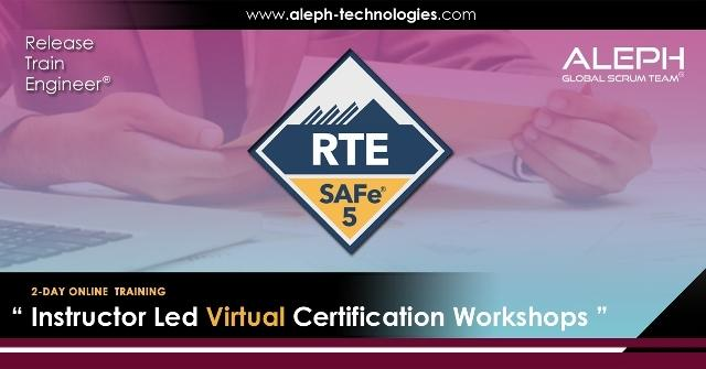 Release Train Engineer |SAFe 5.0 | Virtual Instructor Led