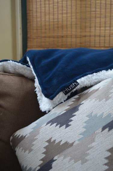 The Hush Weighted Throw Blanket   BedBreeZzz