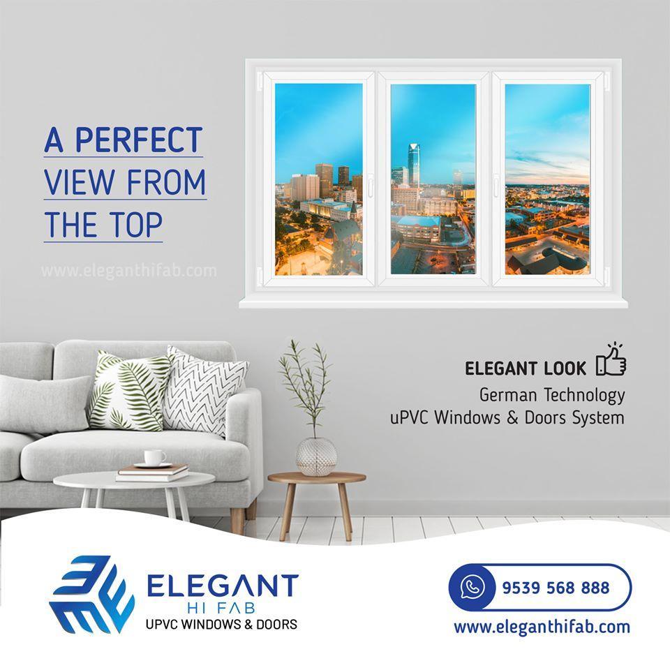 Elegant Hi Fab is one of the best uPVC windows in Cochin