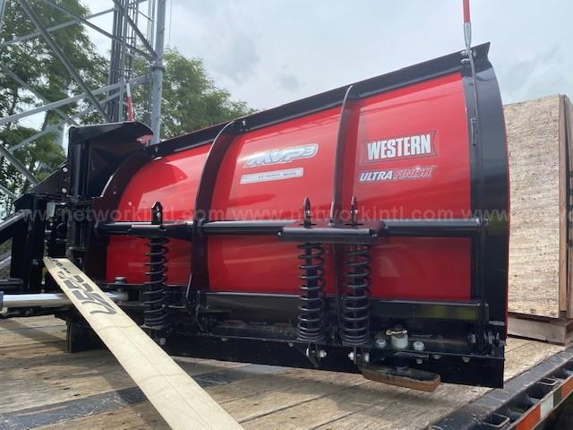 Western Ultra MVP3 Snow Plow, for Pickup Truck