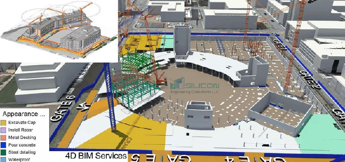 BIM 4D Services California