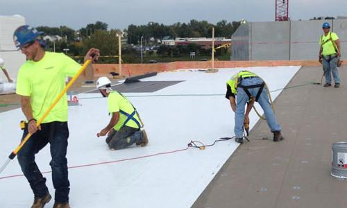 Qualified Team | Flat Roof Replacement | The Roofers