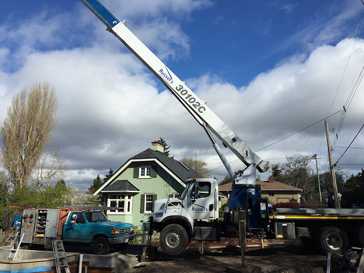 Crane And Lifting Services in Vancouver   Russel's Crane &