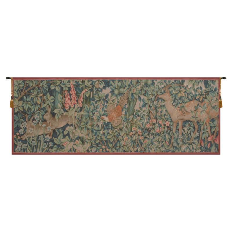 BUY DECORATIVE RABBIT, PHEASANT, AND DOE FRENCH TAPESTRY