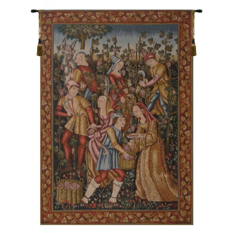 BUY DECORATIVE VENDANGES FRENCH TAPESTRY
