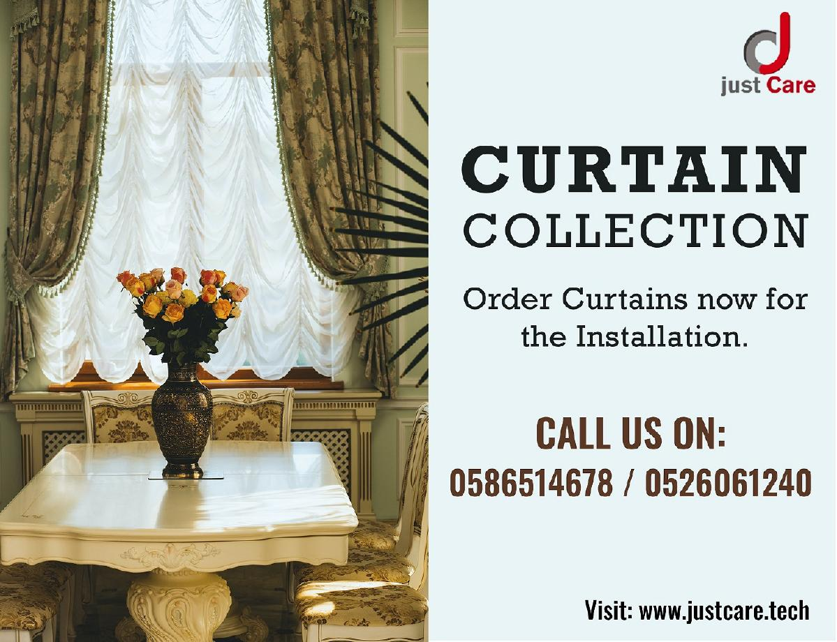Curtain and Blind Installation Service in Dubai | Home