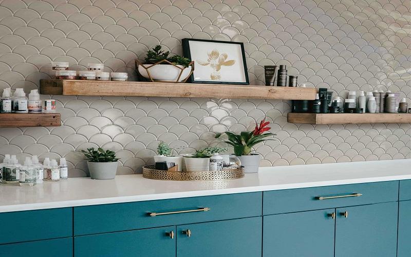 Choose the Best Porcelain and White Kitchen Backsplash at