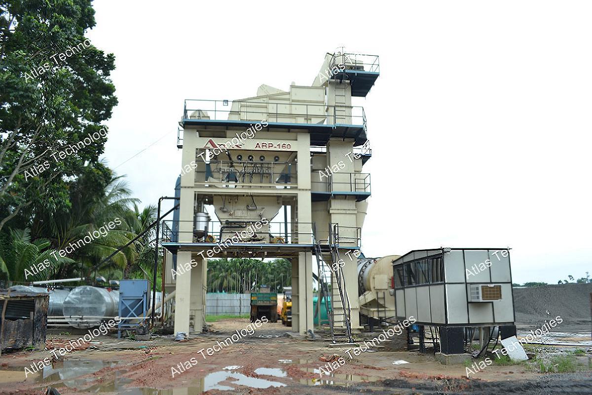 Top Asphalt batch mix plant | Atlas Technologies