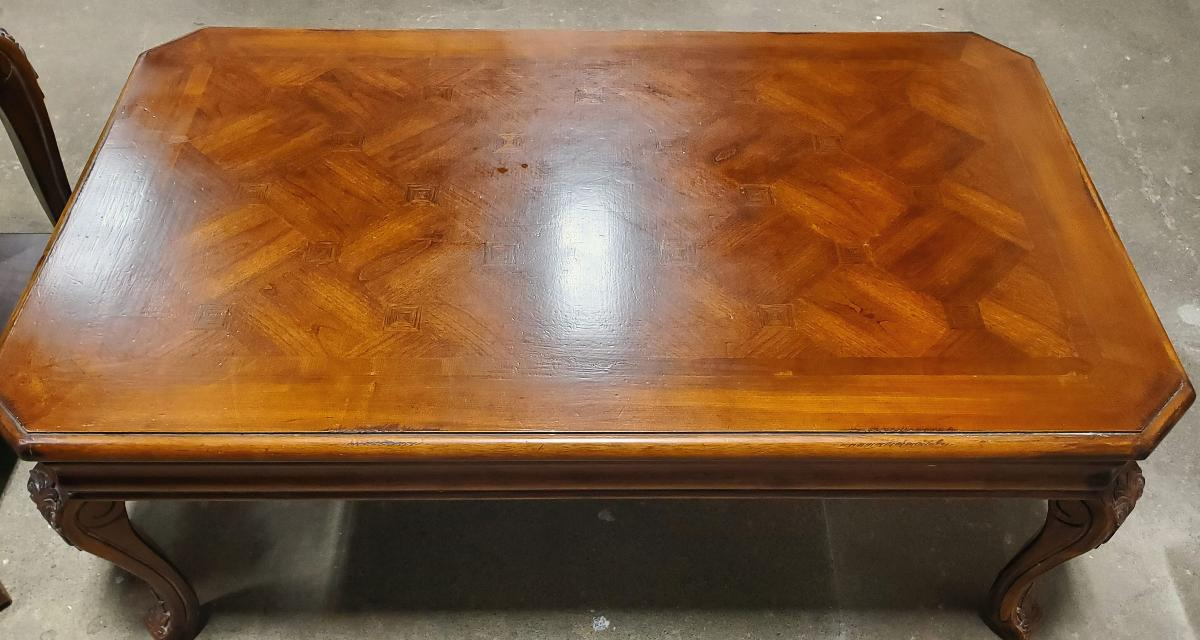 Wooden Coffee Table & End Table Set * Excellent *