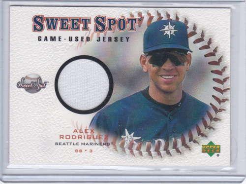 Alex Rodriguez  Sweet Spot Game Used Jersey J-AR